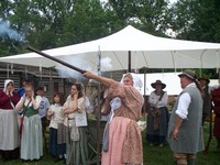 Highlight for album: 2008 Frontier women from women on the frontier weekend
